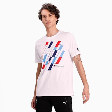BMW Motorsport Graphic  Q2 T-shirt, Puma White, small-IND