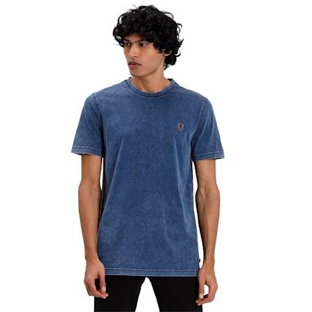 Ferrari Life T-Shirt, Dark Denim, small-IND