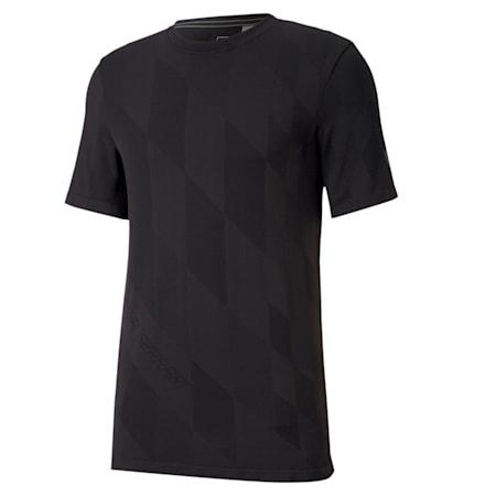 Ferrari RCT evoKNIT T-Shirt, Puma Black, small-IND