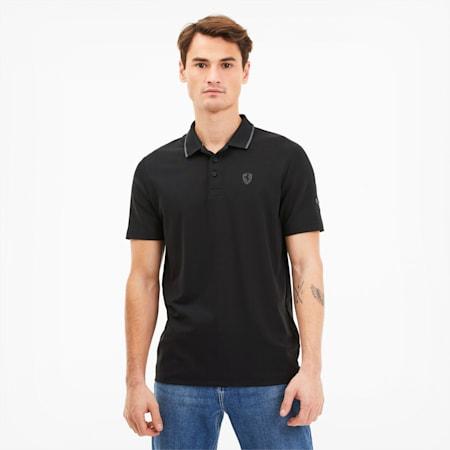 フェラーリ ポロシャツ 半袖, Puma Black, small-JPN