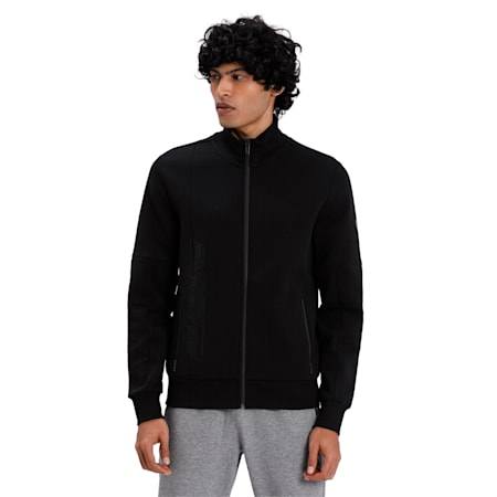 Ferrari Sweat Jacket, Puma Black, small-IND