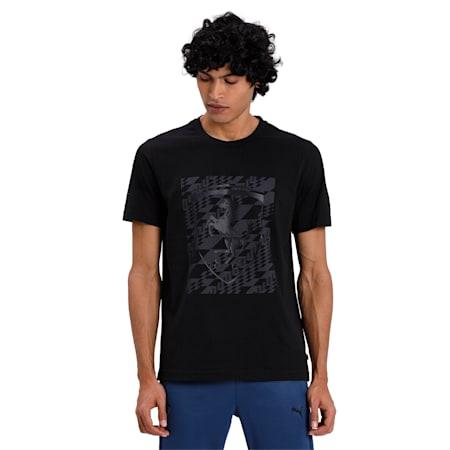 Ferrari Big Shield T-Shirt+, Puma Black, small-IND