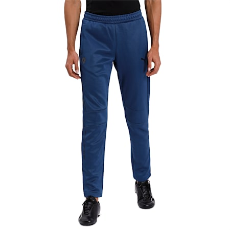 Ferrari T7  Men's Track Pants, Dark Denim, small-IND