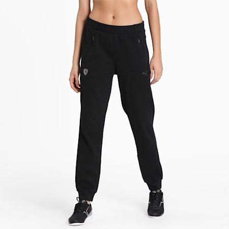 Ferrari Women's Sweat Pants, Puma Black, small-IND