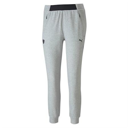 Ferrari Women's Sweat Pants, Light Gray Heather, small-IND