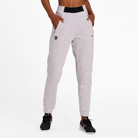 Ferrari Wmn Sweat Pants, Light Gray Heather, small-IND