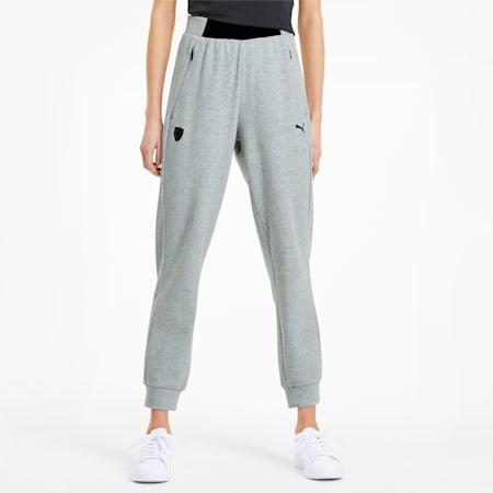 Pantalones deportivos Scuderia Ferrari para mujer, Light Gray Heather, pequeño