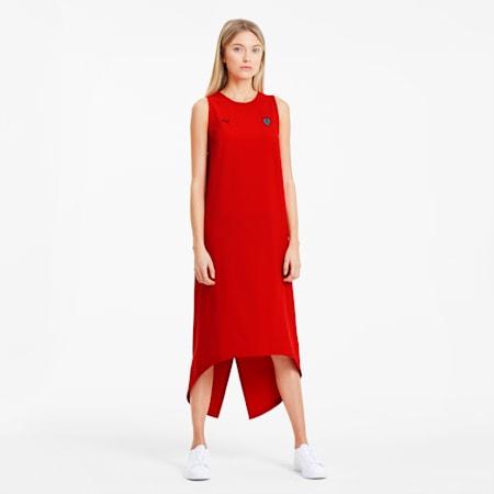 Ferrari Damen Kleid, Rosso Corsa, small
