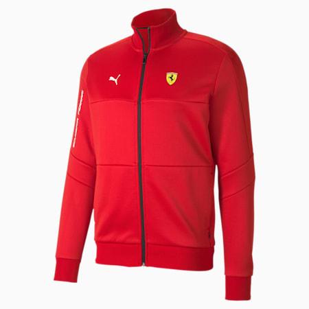 Scuderia Ferrari T7 Men's Track Jacket, Rosso Corsa, small-SEA