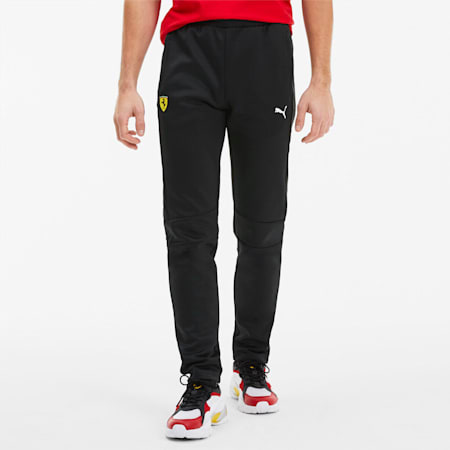 Scuderia Ferrari T7 Men's Track Pants, Puma Black, small-SEA
