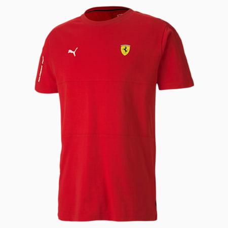 Scuderia Ferrari T7 Men's Tee, Rosso Corsa, small