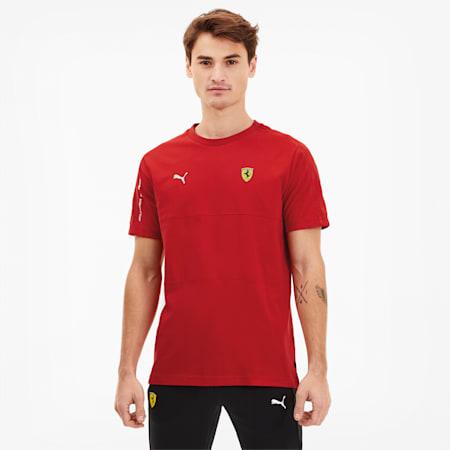T-shirt da uomo Scuderia Ferrari T7, Rosso Corsa, small