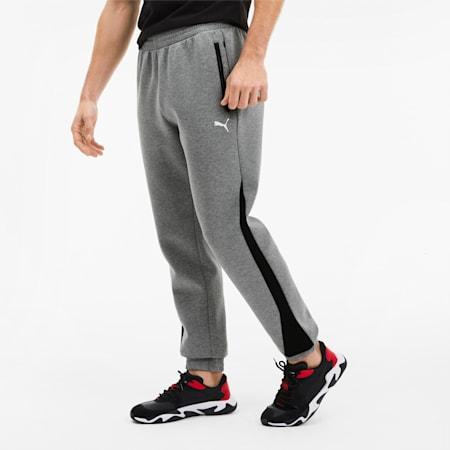 Ferrari Herren Gestrickte Sweatpants, Medium Gray Heather, small
