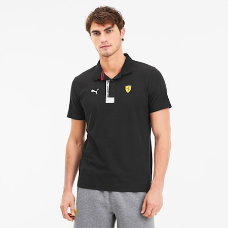 Scuderia Ferrari Men's Polo, Puma Black, small