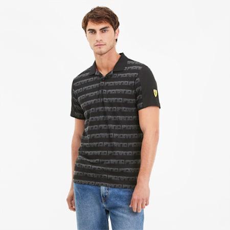 フェラーリ AOP ポロシャツ 半袖, Puma Black, small-JPN