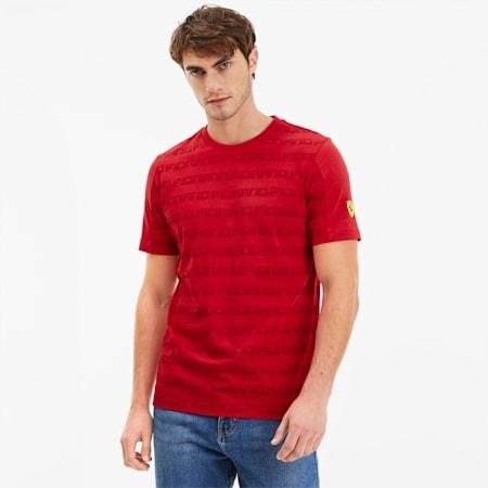 フェラーリ AOP Tシャツ 半袖, Rosso Corsa, small-JPN