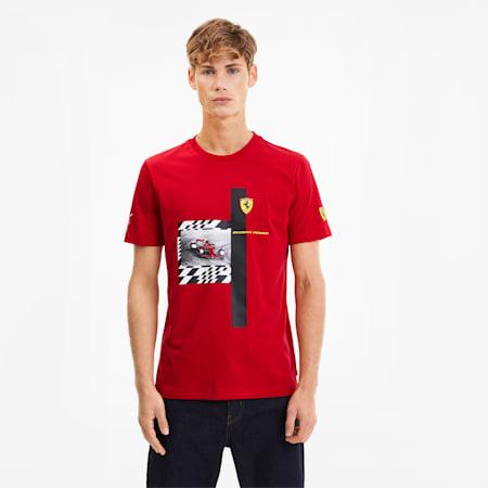 フェラーリ Q2 Tシャツ 半袖, Rosso Corsa, small-JPN