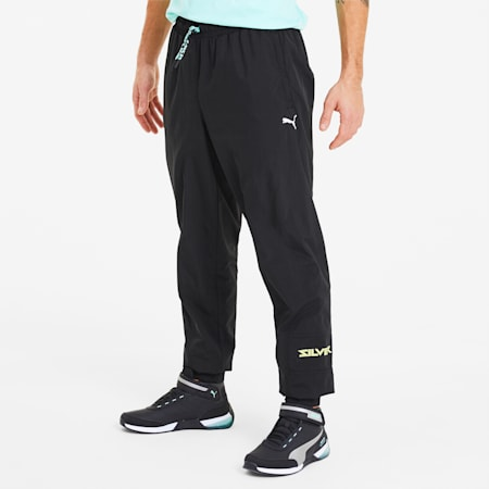Mercedes AMG Petronas Street Men's Pants, Puma Black, small