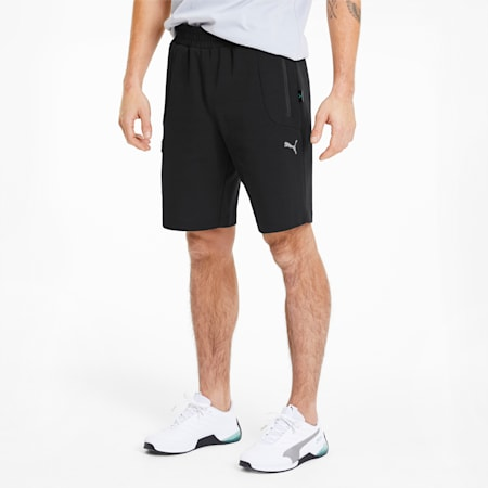 Mercedes AMG Petronas Men's Sweat Shorts, Puma Black, small