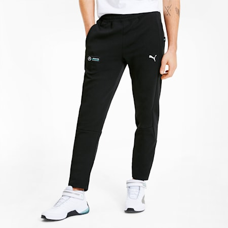 Mercedes Herren Sweatpants, Puma Black, small