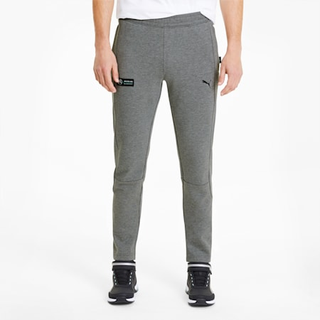 Mercedes Men's Sweatpants, Medium Gray Heather, small