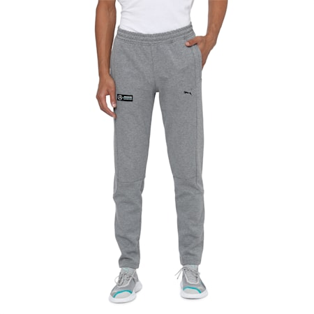 Mercedes Men's Sweatpants, Medium Gray Heather, small-IND