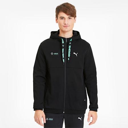 Mercedes hoodie voor heren, Puma Black, small