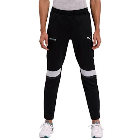 Mercedes T7 Knitted Men's Sweatpants, Puma Black, small-IND