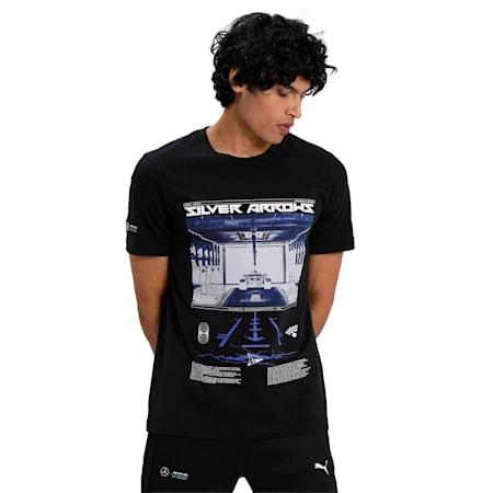 MAPM GRAPHIC Men's T-Shirt 2, Puma Black, small-IND