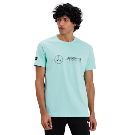 MAPM LOGO TEE, Green Glimmer, small-IND