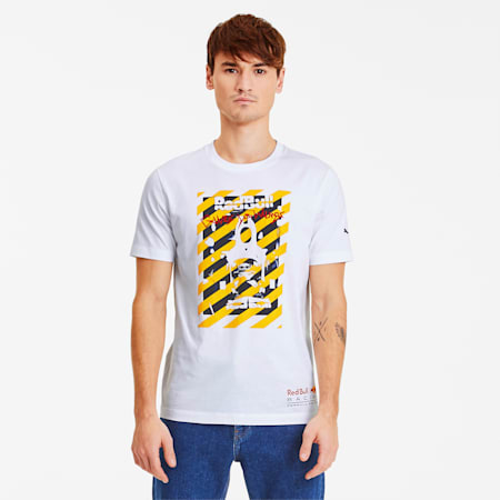 Red Bull Racing Street Men's Tee, Puma White, small