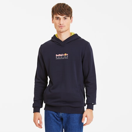Sweat à capuche Red Bull Racing Dynamic Bull pour homme, NIGHT SKY, small