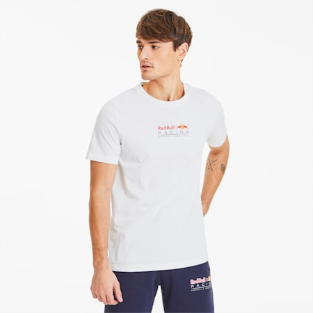 T-Shirt Red Bull Racing Dynamic Bull pour homme, Puma White, small