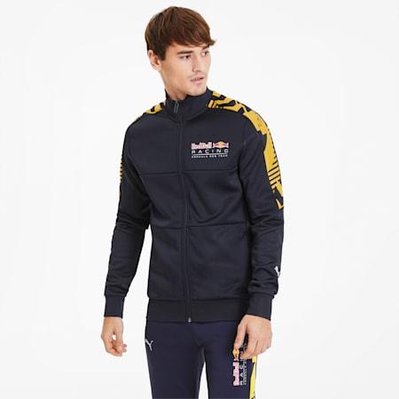 Red Bull Racing Men's T7 Track Jacket, NIGHT SKY, small
