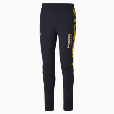 Red Bull Racing Knitted Men's Motorsport Track Pants, NIGHT SKY, small-SEA