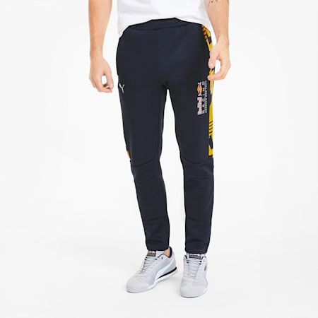 Męskie spodnie dresowe Red Bull Racing Knitted, NIGHT SKY, small