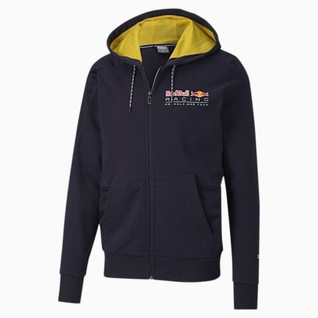 Red Bull Racing Hooded Men's Sweat Jacket, NIGHT SKY, small-SEA
