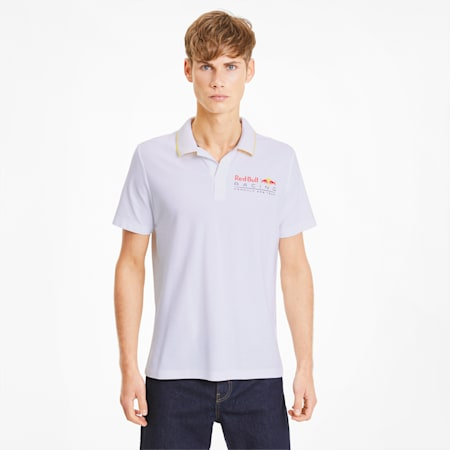 レッドブル RBR ポロシャツ 半袖, Puma White, small-JPN