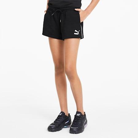 Classics T7 damesshort, Puma Black, small