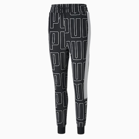 AOP Women's Track Pants, Puma Black, small