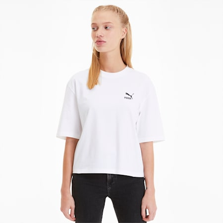 Tailored For Sport Graphic Women's Tee, Puma White, small