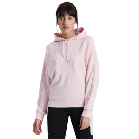Tailored for Sport Women's Hoodie, Rosewater, small-IND
