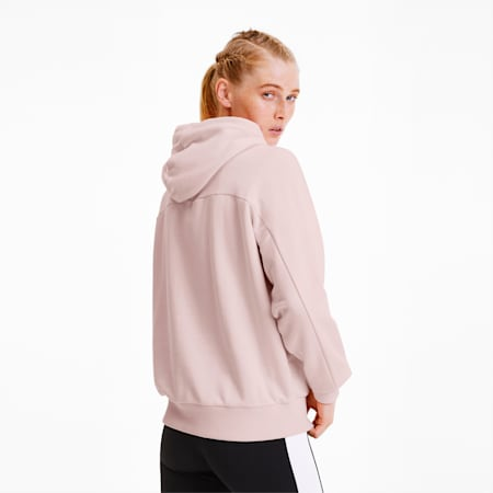 Tailored for Sport Women's Hoodie, Rosewater, small