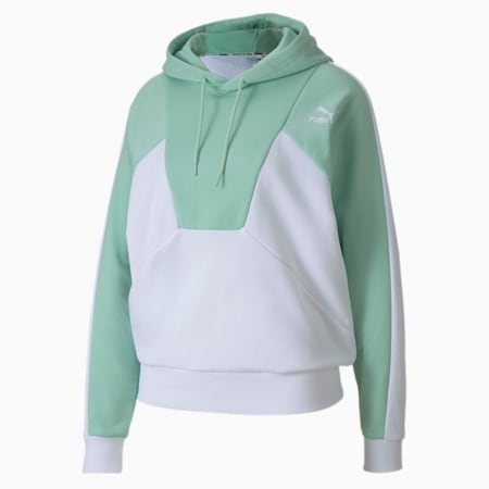 Tailored for Sport Women's Hoodie, Mist Green, small-SEA