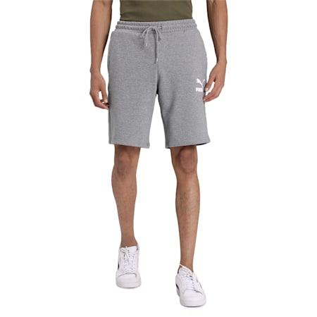 Classics Shorts, Medium Gray Heather, small-IND