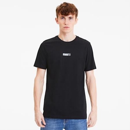 Classics Logo N.2 T-Shirt, Puma Black, small-IND