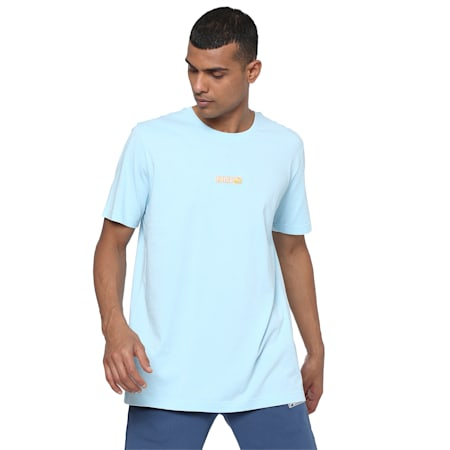 Classics Logo N.2 T-Shirt, Aquamarine, small-IND