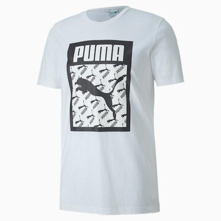Logo Fill Men's Tee, Puma White, small-SEA
