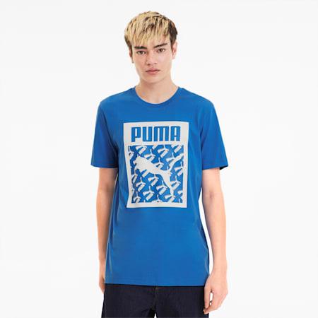 Men's Logo Fill Tee, Palace Blue, small