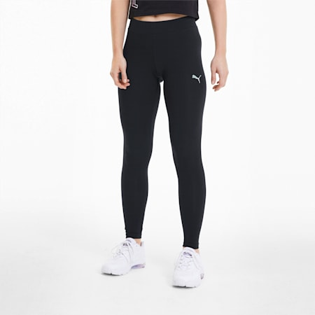 Glow Pack Women's Leggings, Puma Black, small-SEA